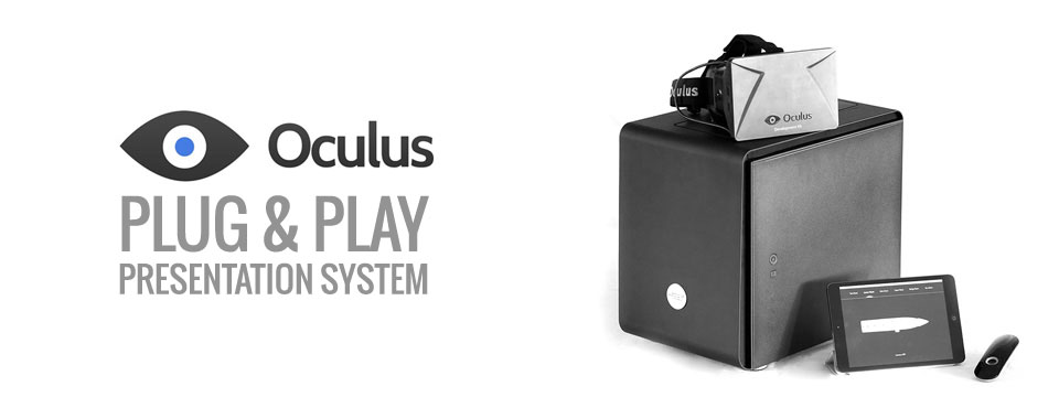 Oculus Rift VT Presentation System